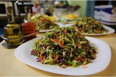 ανάμικτη σαλάτα λαχανικών